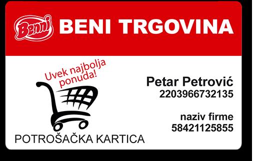 Potrošačka kartica